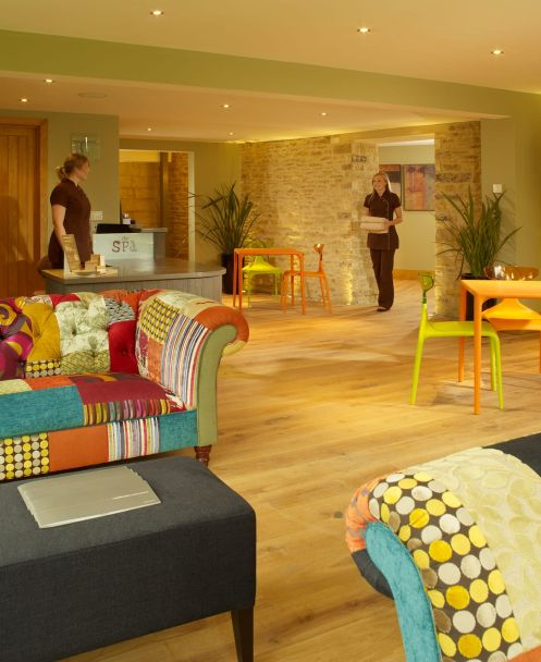The spa at Woolley Grange luxury family hotel and spa in Wiltshire
