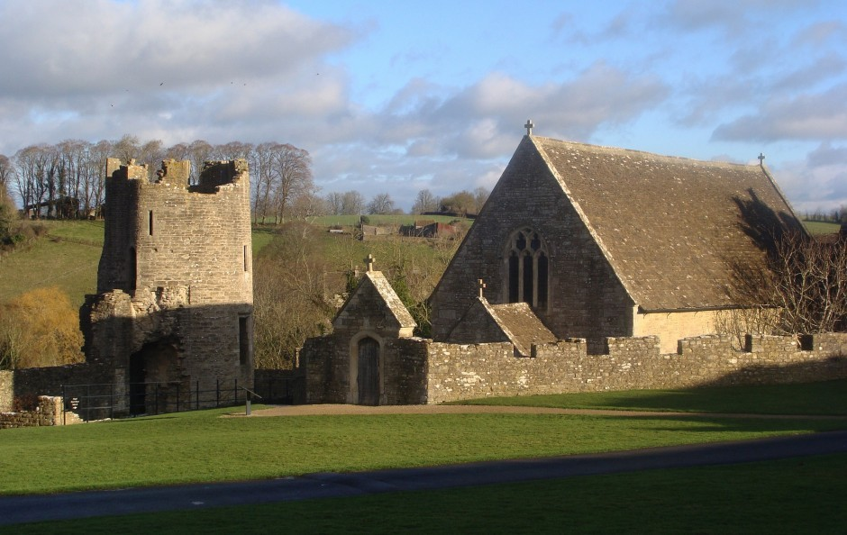 Fairleigh Hungerford Castle, close to Woolley Grange Hotel in Bradford on Avon