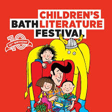 A poster for the Bath Children's Literature Festival, a great family event for those staying at Woolley Grange Hotel