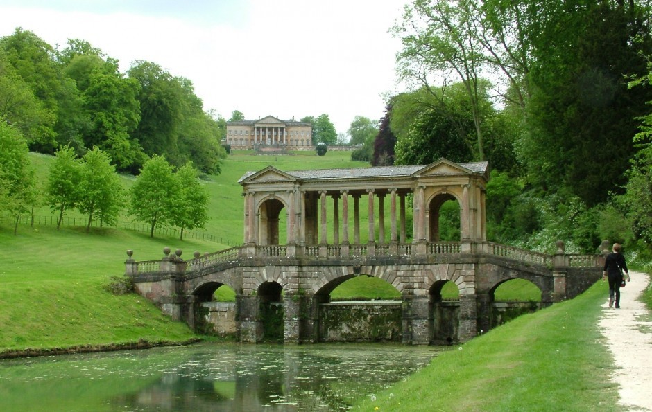 Prior Park near Woolley Grange luxury family hotel in Bradford on Avon