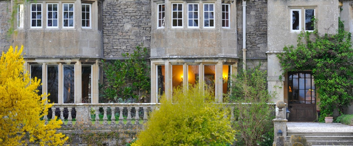 Historic Woolley Grange Hotel near the Cotswolds