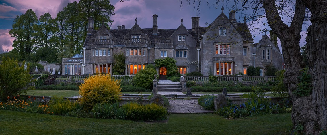 Woolley Grange Hotel in the Wiltshire countryside