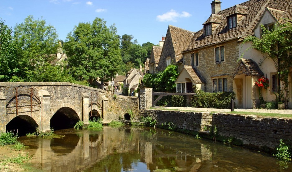 Castle Combe village, one of the War Horse filming locations