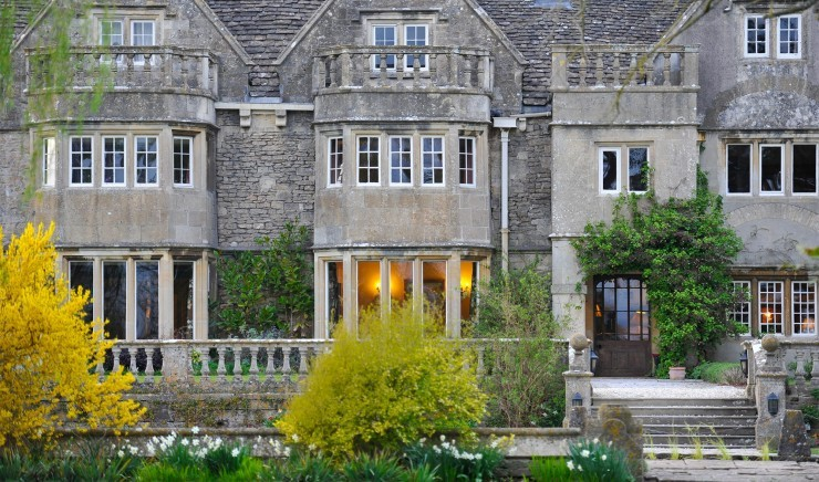 The Jacobean country house Woolley Grange near the Cotswolds