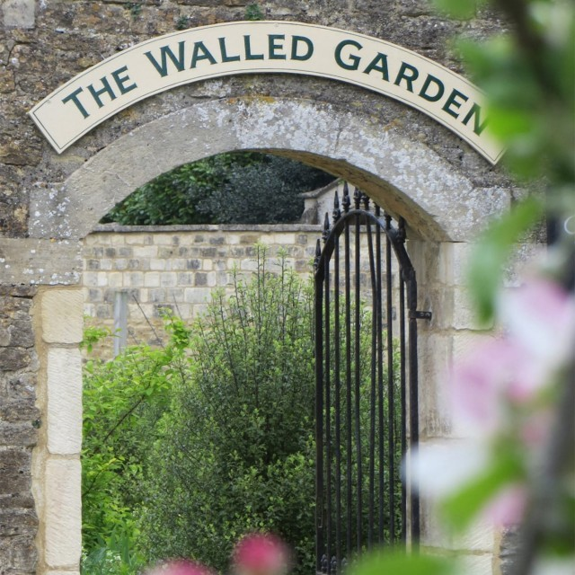 The Walled Garden at Woolley Grange luxury family hotel in Wiltshire
