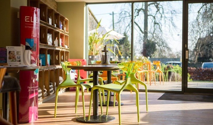 Family-friendly spa in Wiltshire at Woolley Grange