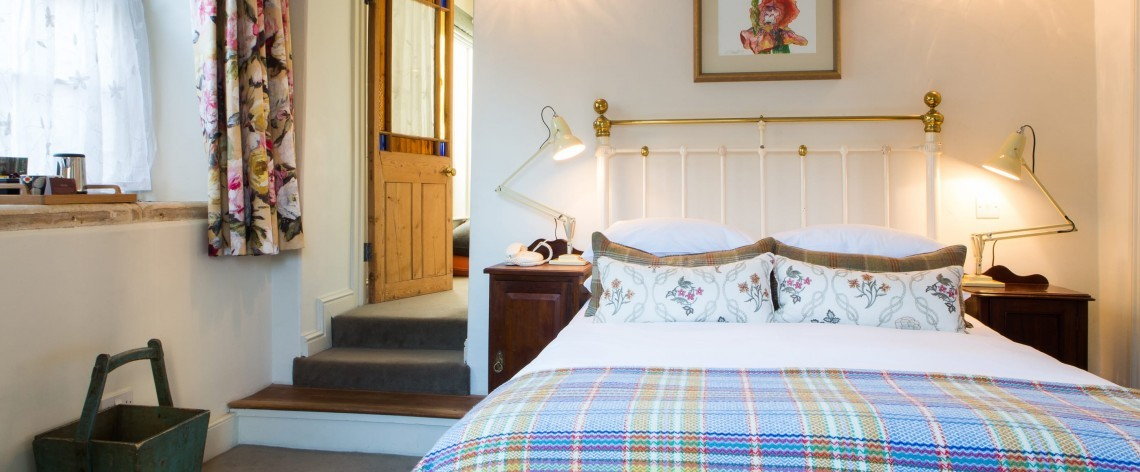 Family-friendly hotel suite at Woolley Grange