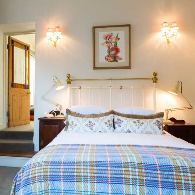 A family suite at the Woolley Grange Hotel