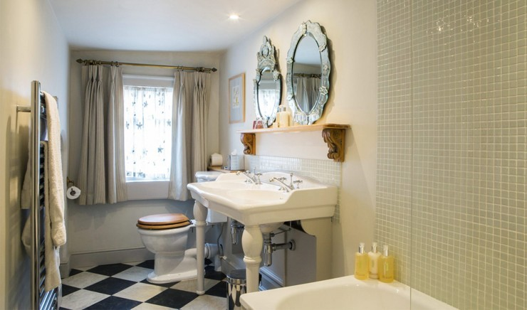 Luxurious bathroom in a Woolley Grange Hotel suite