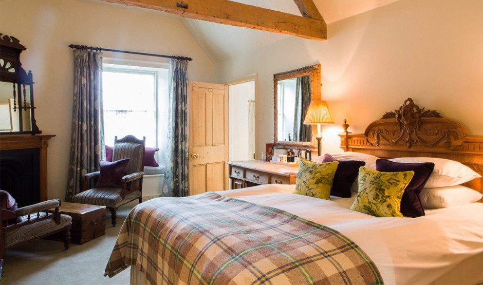 Interconnecting hotel room suited to family holidays in Wiltshire