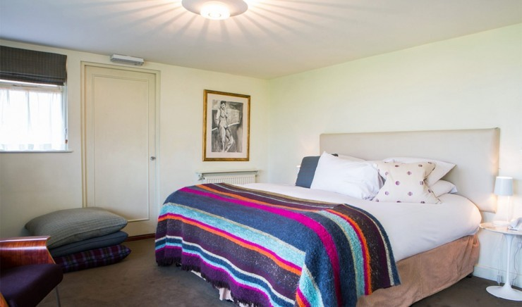 Large double room at Woolley Grange Hotel in Bradford-on-Avon