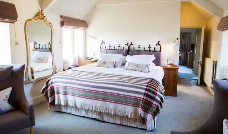 Family-friendly hotel room at Woolley Grange in Bradford-on-Avon