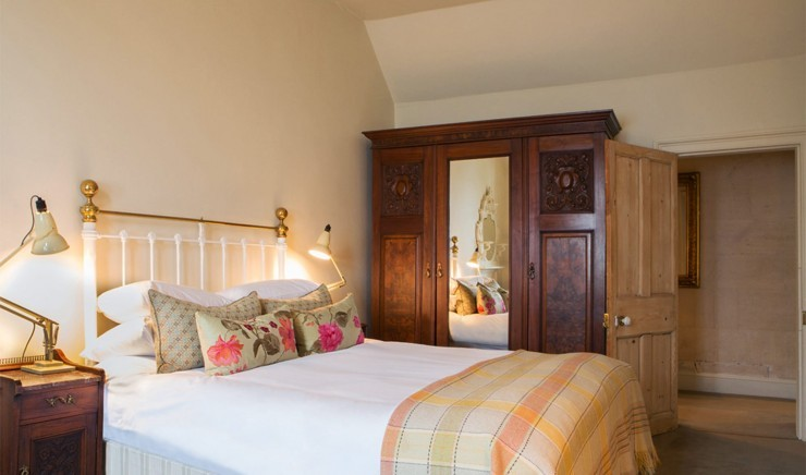 Family hotel room at Woolley Grange in Wiltshire